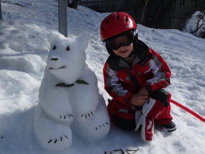 Snow bear!